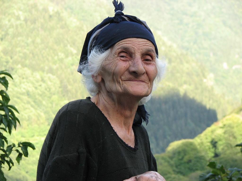 Старушка из Чхутунети
