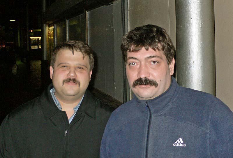 Игорь Опря и Андрей Смирнов