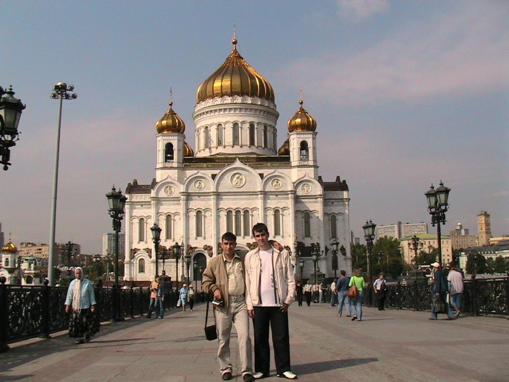 МОСКВА-2007, Храм Христа Спасителя.