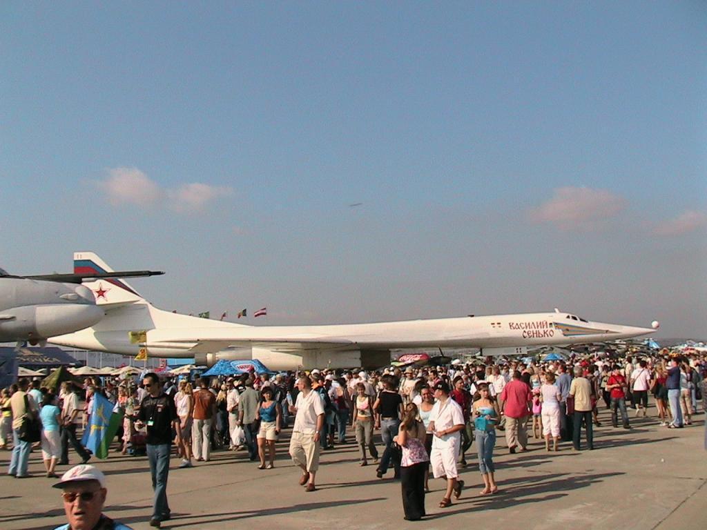 МАКС-2007 ТУ-160