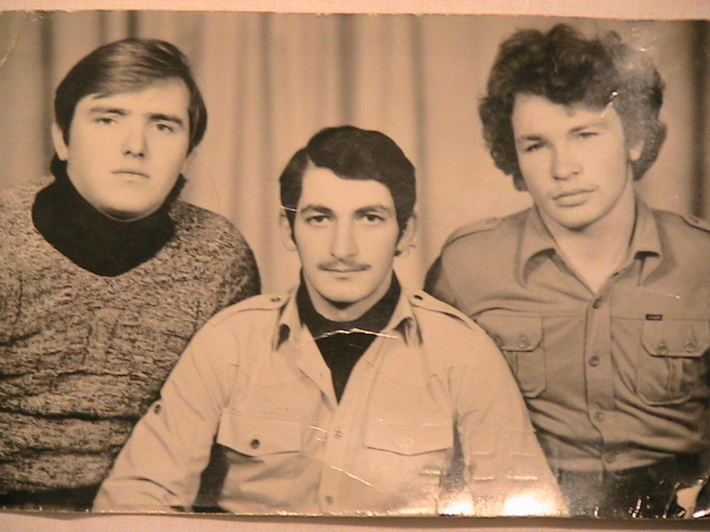 Н.Морозов, М.Цинцадзе, И.Дианов, 1976г.