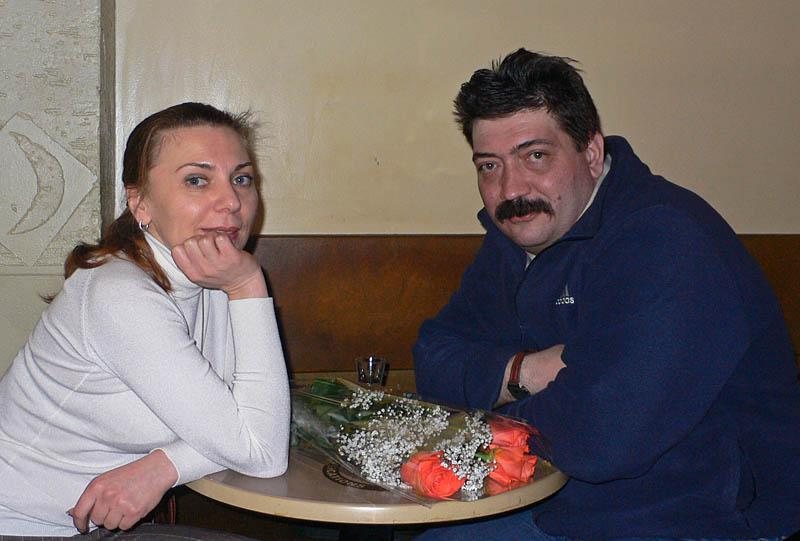 Юля Макеева (Карачун) и Андрей Смирнов
