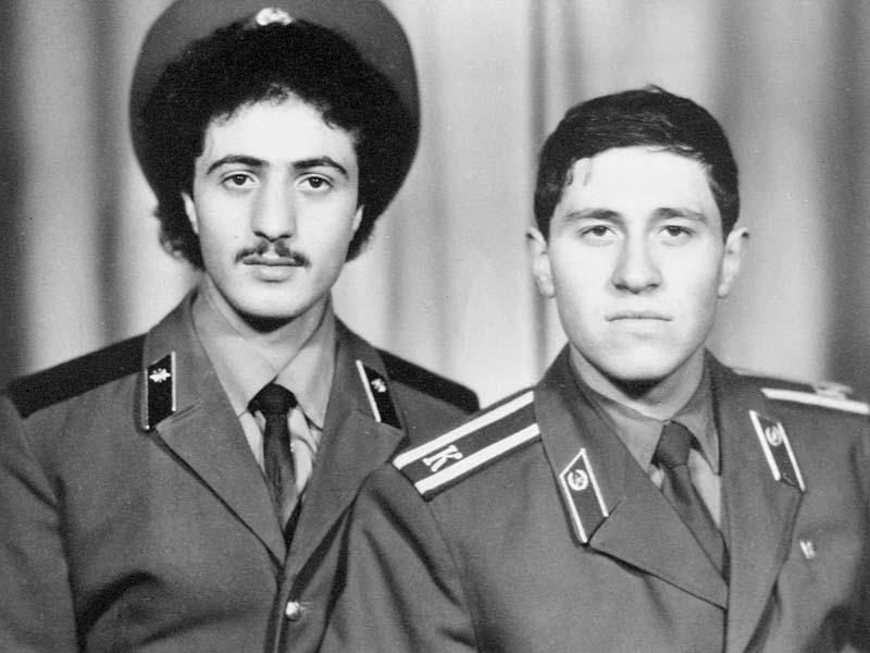 Триандофил Мавропуло и Аркадий Беридзе