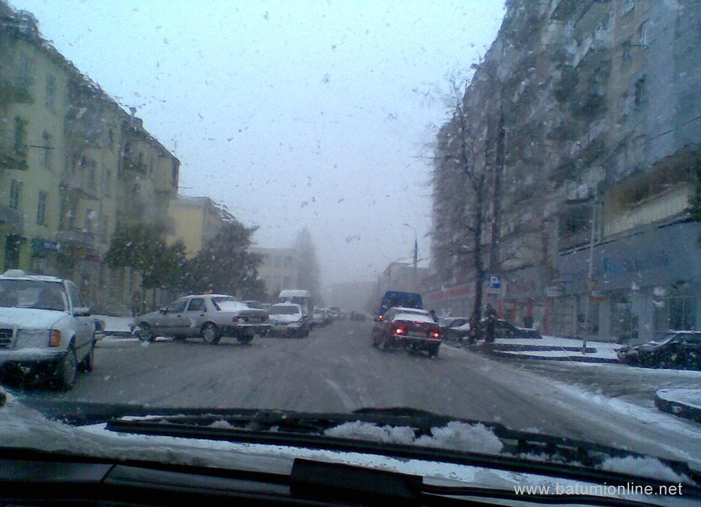 "Снег и ветер в районе ""швейки"""