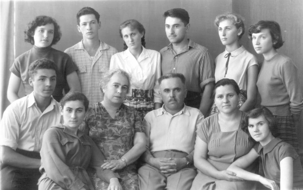 Выпускники 1960 г.