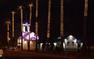 Церковь и пальмы