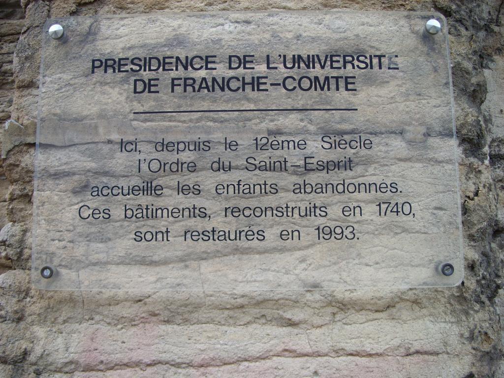 Besançon. L'université de Franche-Comté