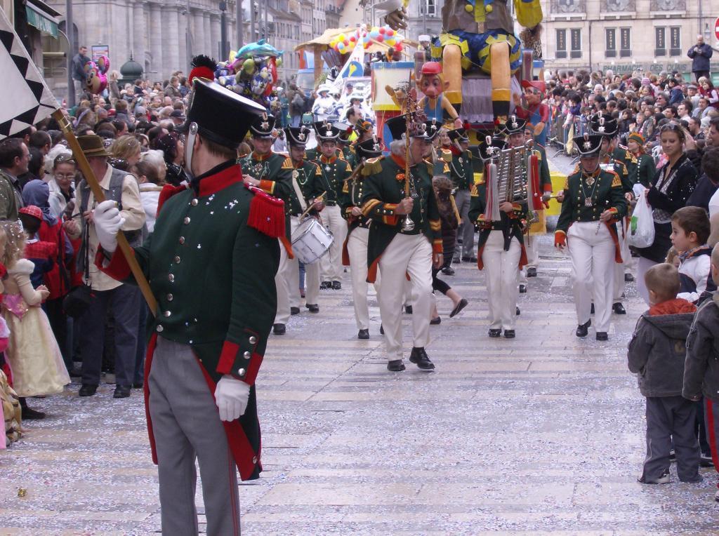 Besançon. Le carnaval.