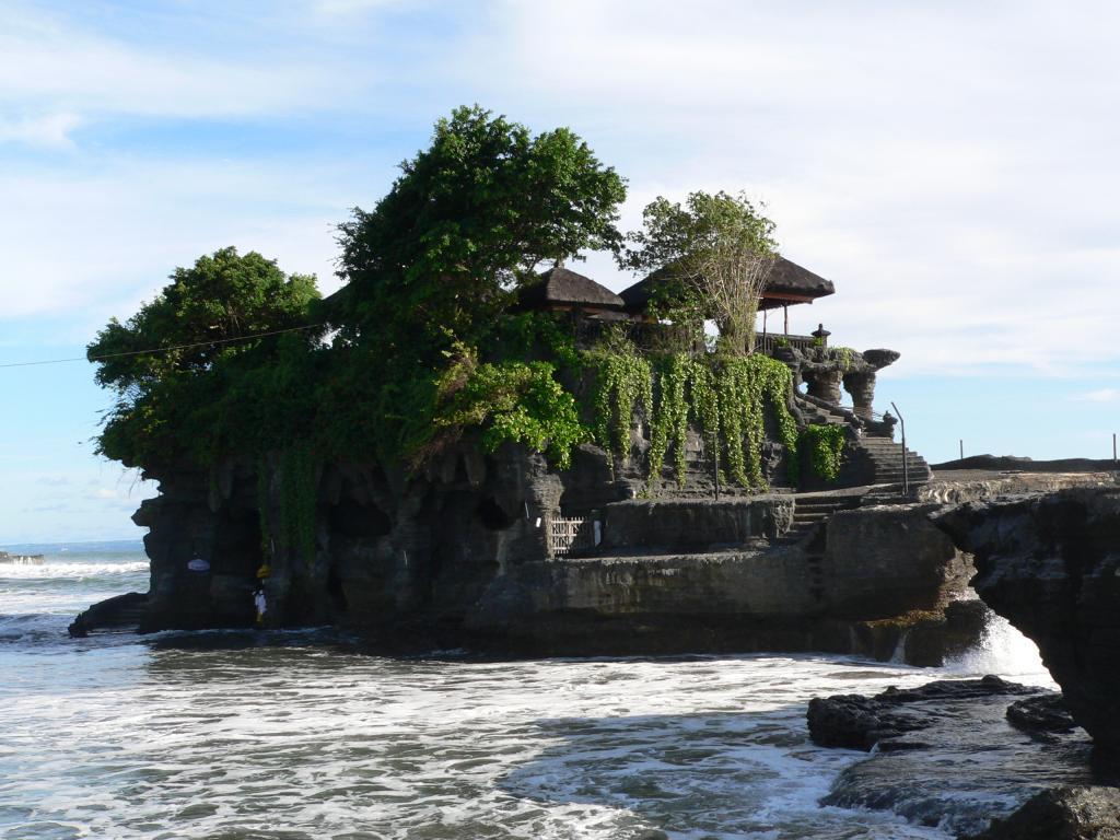 о Бали -Храм на море