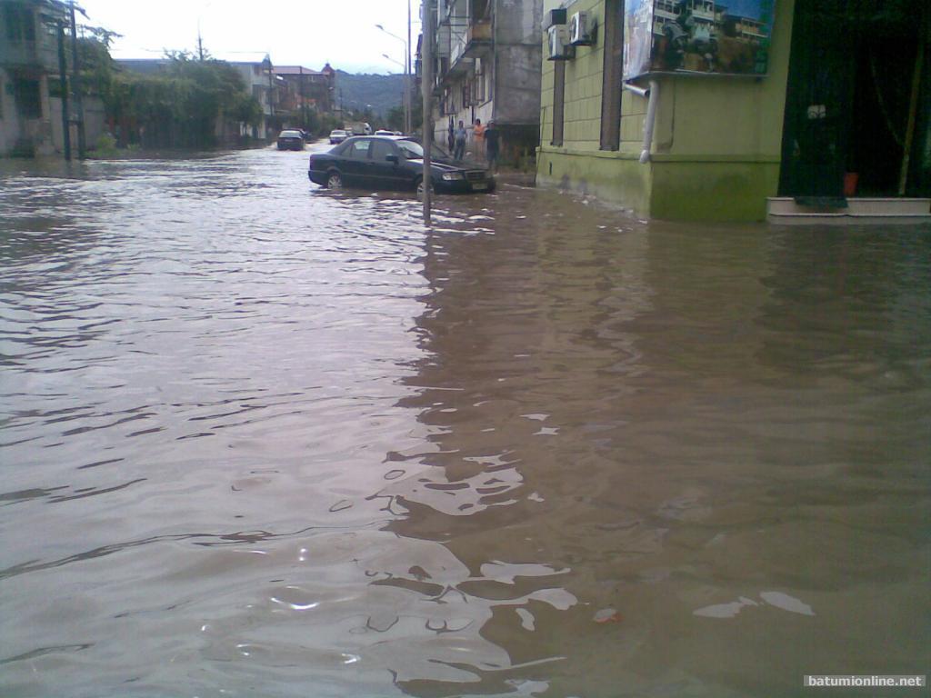 Потоп в районе Швейки