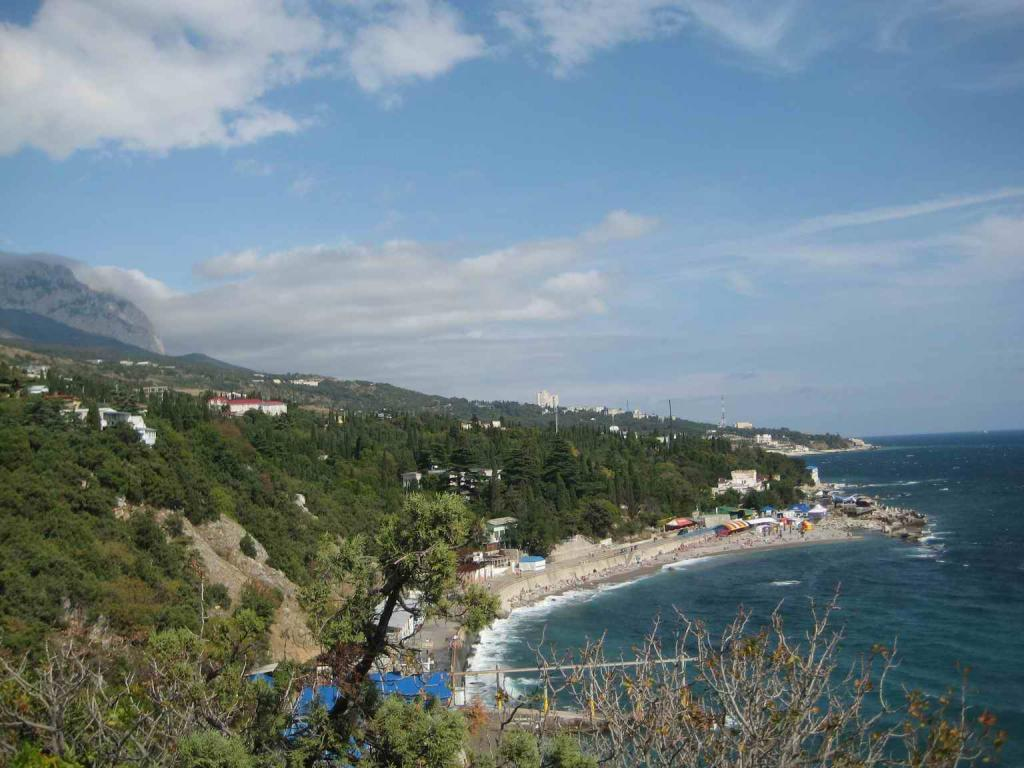 Пляж Симеиза
