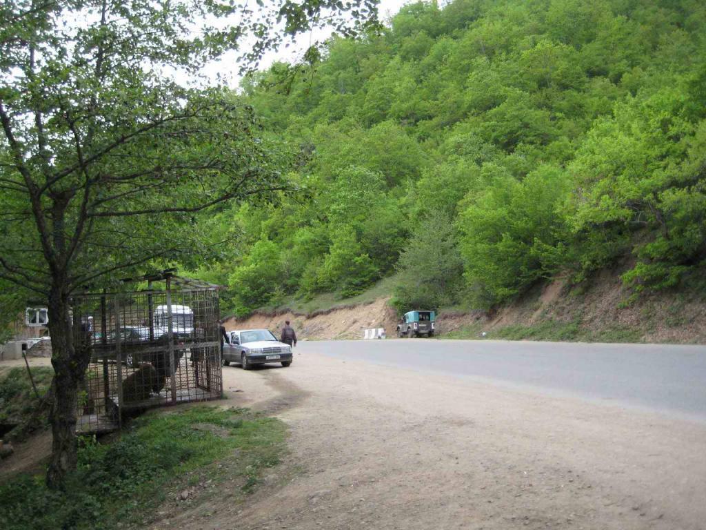 дорога в Сачхере