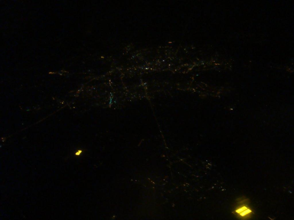 Минск с высоты 10 тыс метров