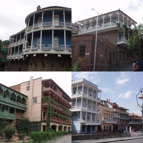 Красивейшие балконы в Тбилиси!