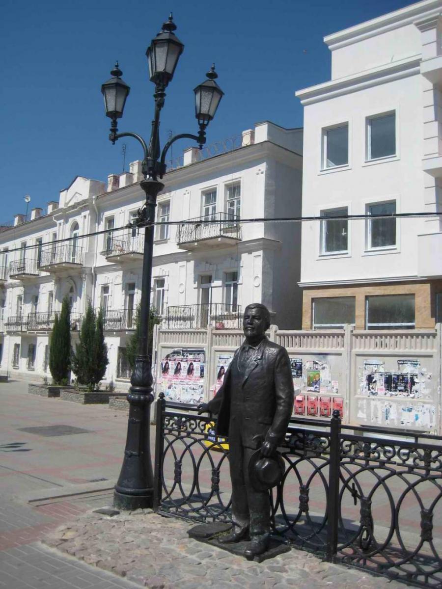 Памятник А.И.Куприну