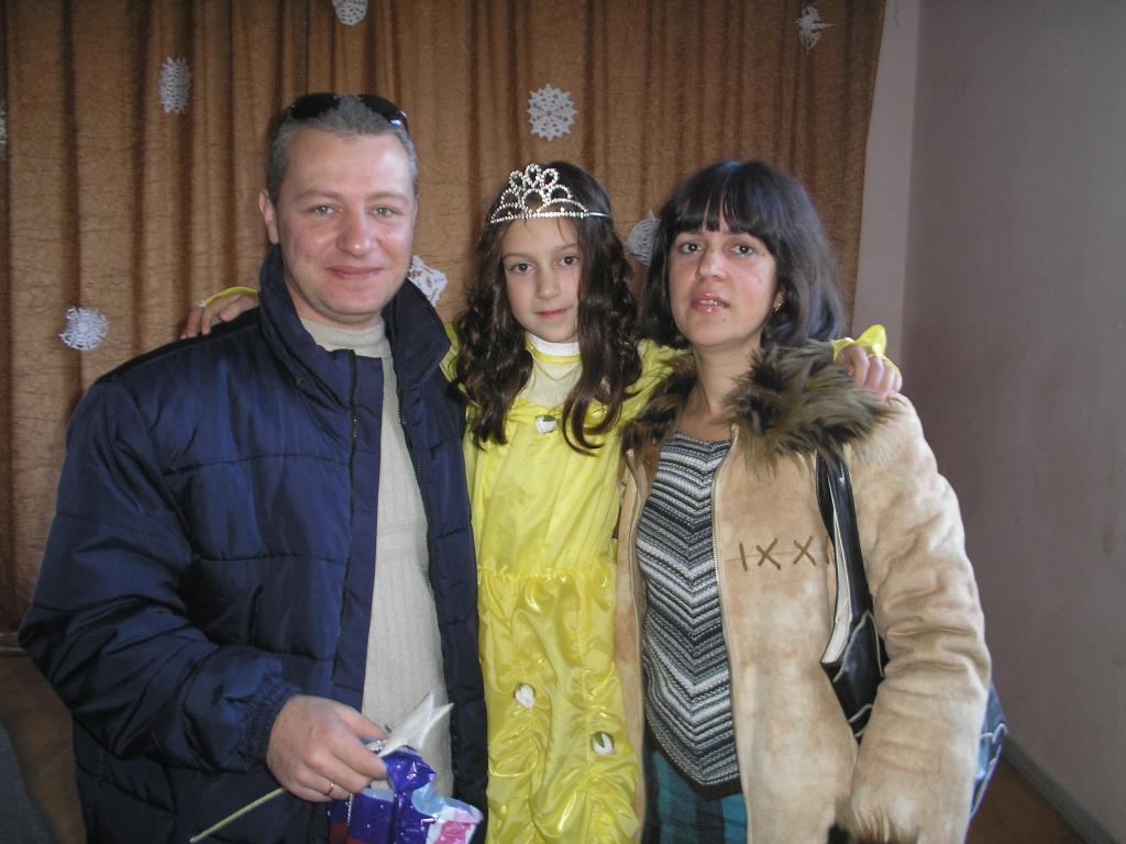 Я,мама и папа !!