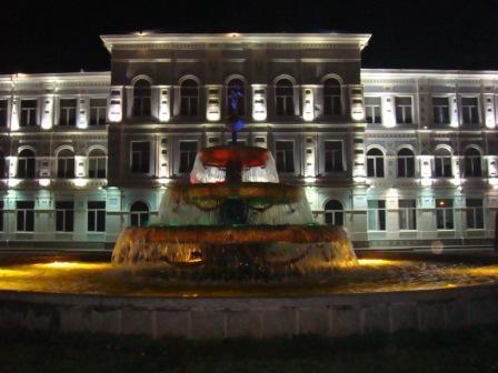 университет со стороны Ниношвили