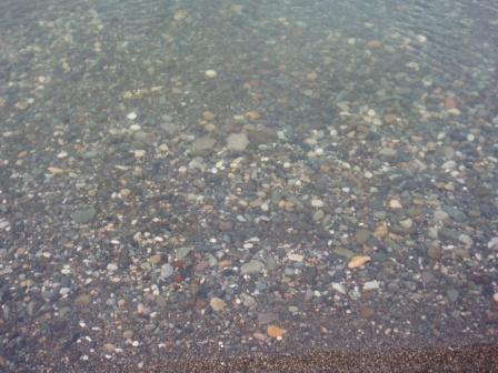 море на Маяке в октябре днем