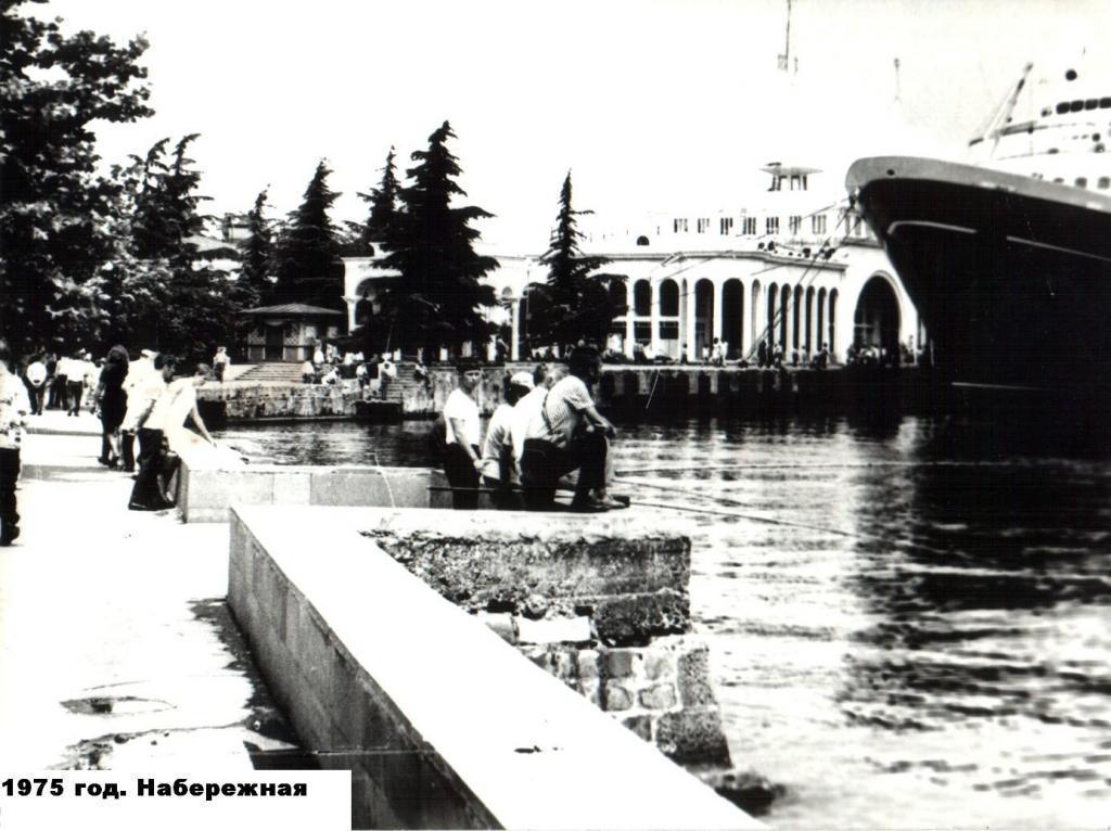 Батуми, 1975 г. Набережная.