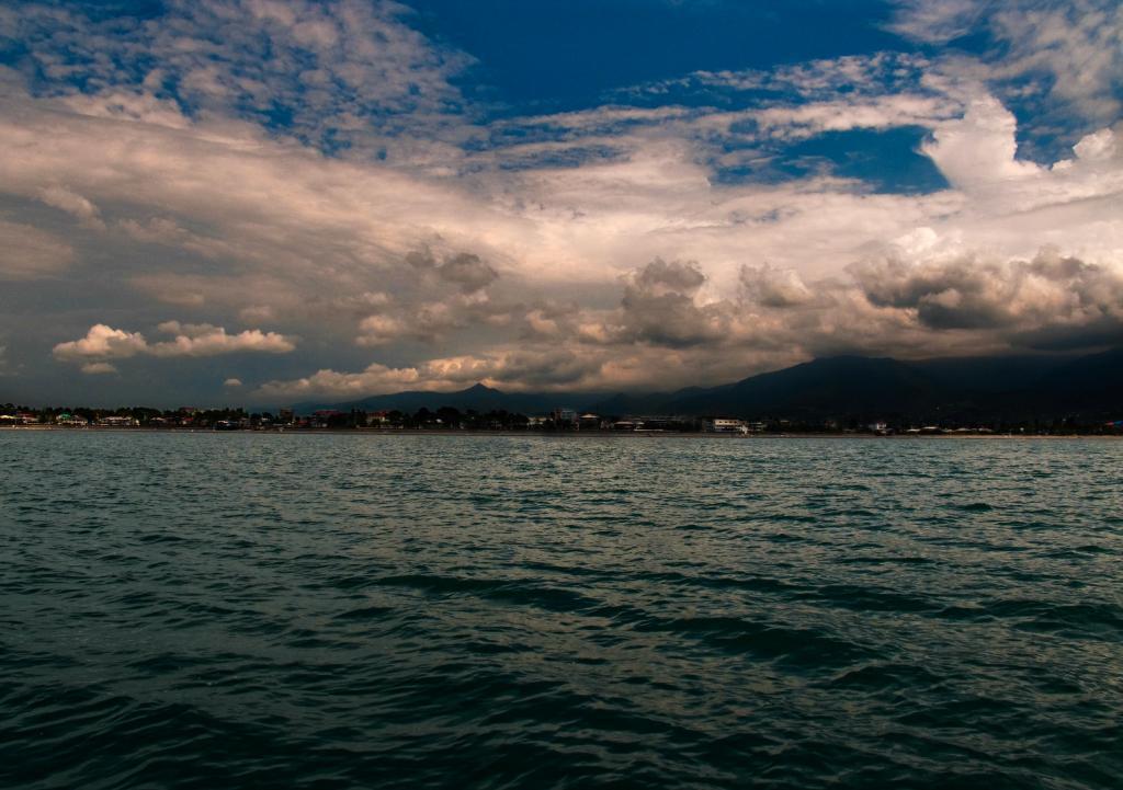 Кобулети, вид с моря
