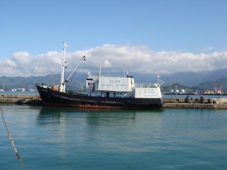 тренировочный пароход мореходки