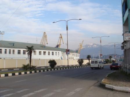 Гогебашвили, морпорт