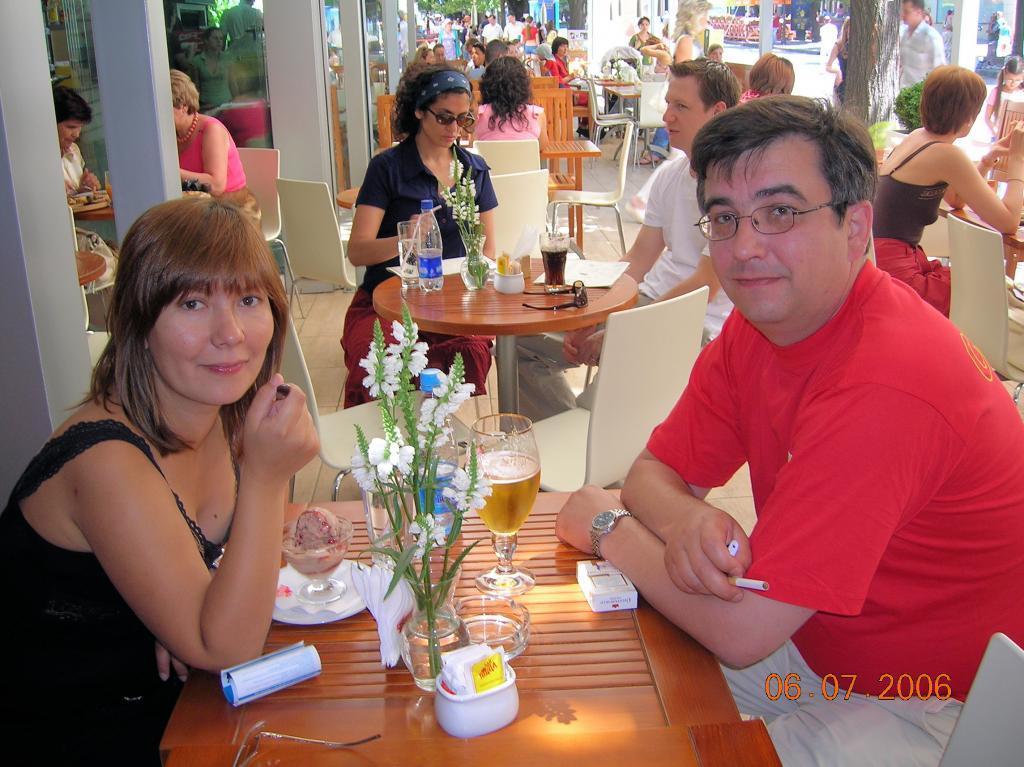 Я с женой в Одессе