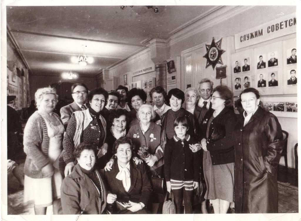 Встреча в ДК Красной Армии (ДК офицеров) им. Фабрициуса - 19