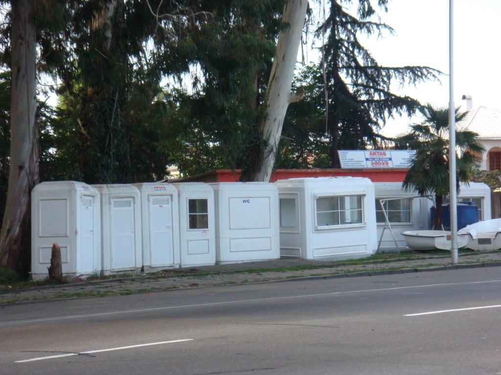 хранилище туалетов в Чакви