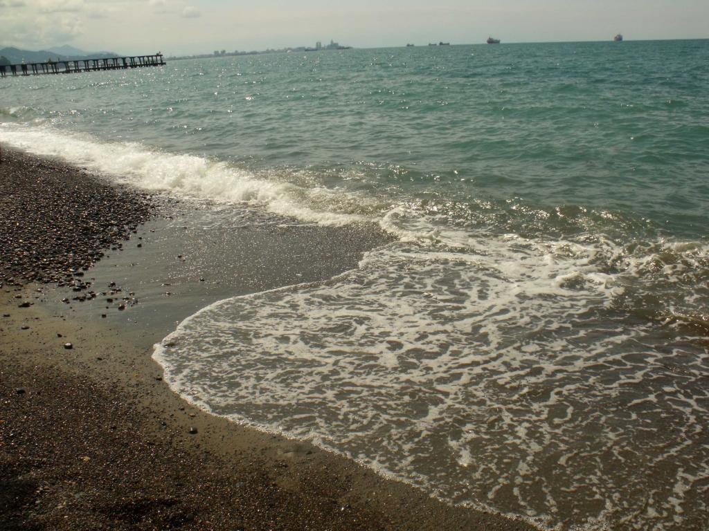 Пляж зелёного мыса