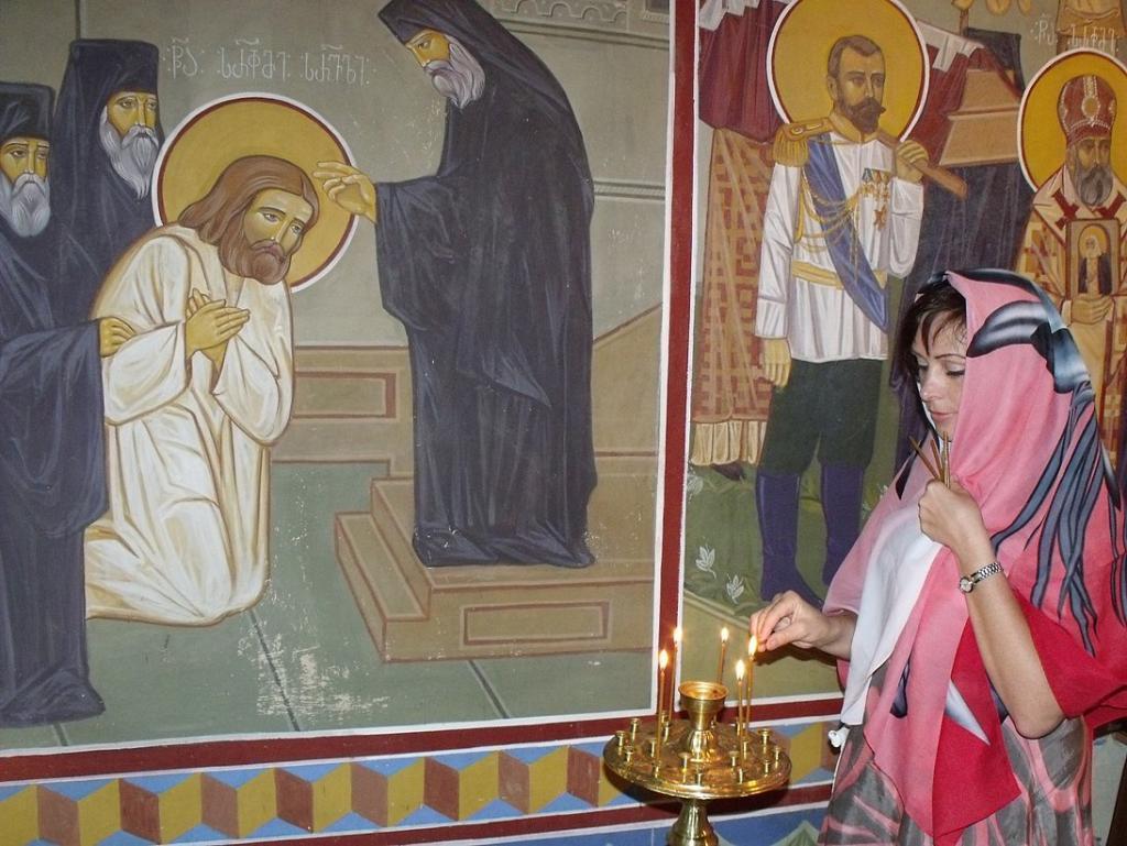 Церковь Серафима Саровского. Боржоми (18 сентября 2010)