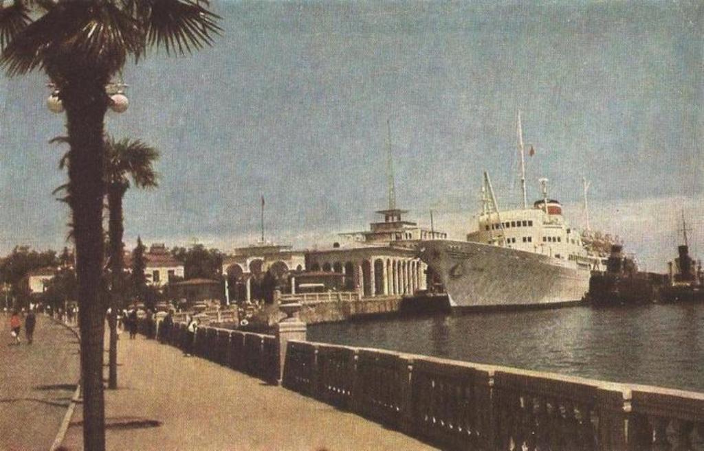 Батуми,1963г..Набережная.