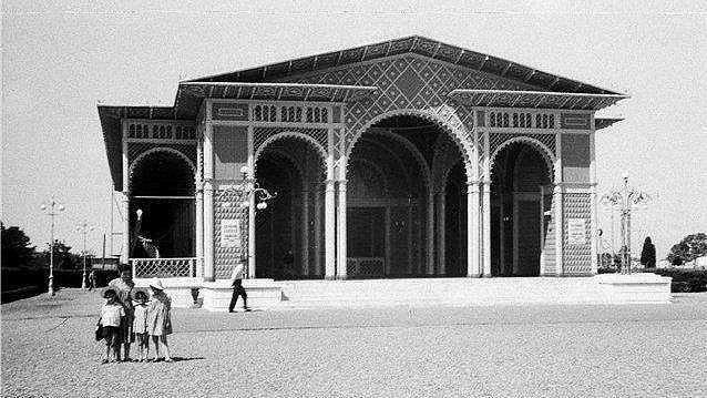 Батумъ Батуми ,бывший летний театр в Приморском парке (бульваре)