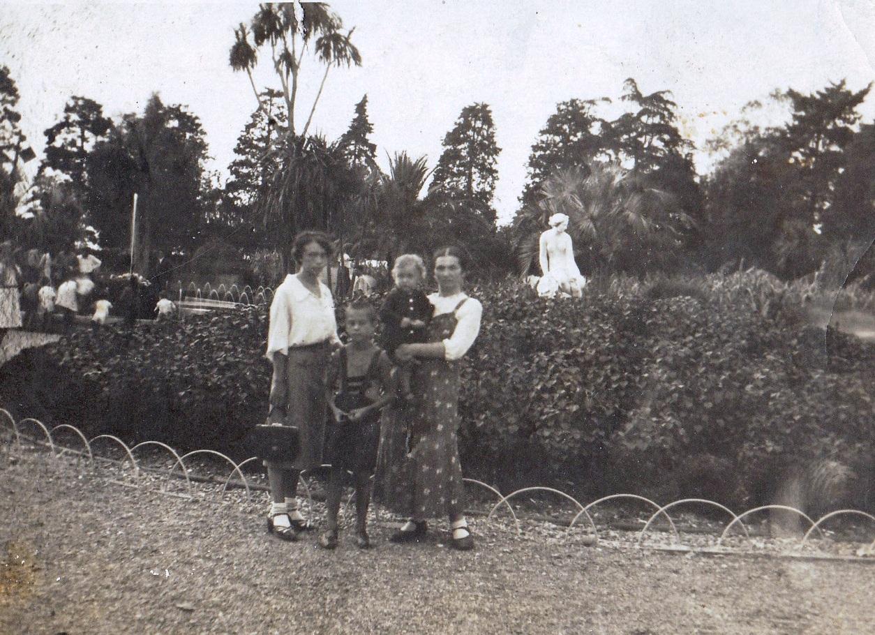 Батуми, Бульвар, 1939г.
