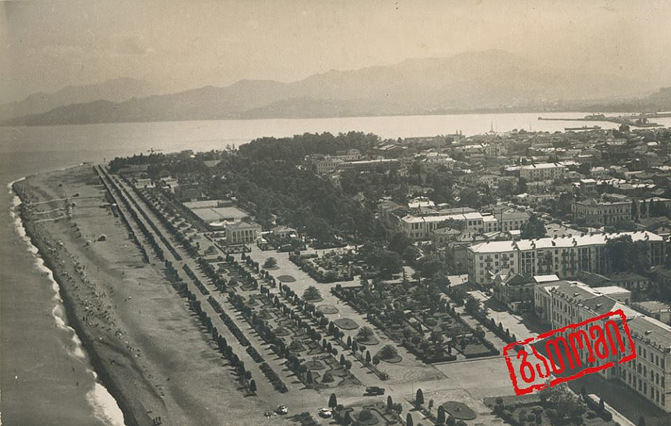 Батумъ Батуми ,бульвар в прошлом веке