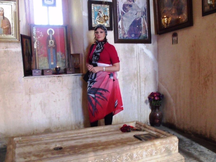 Вблизи монастыря Антония Марткопского (октябрь 2011)