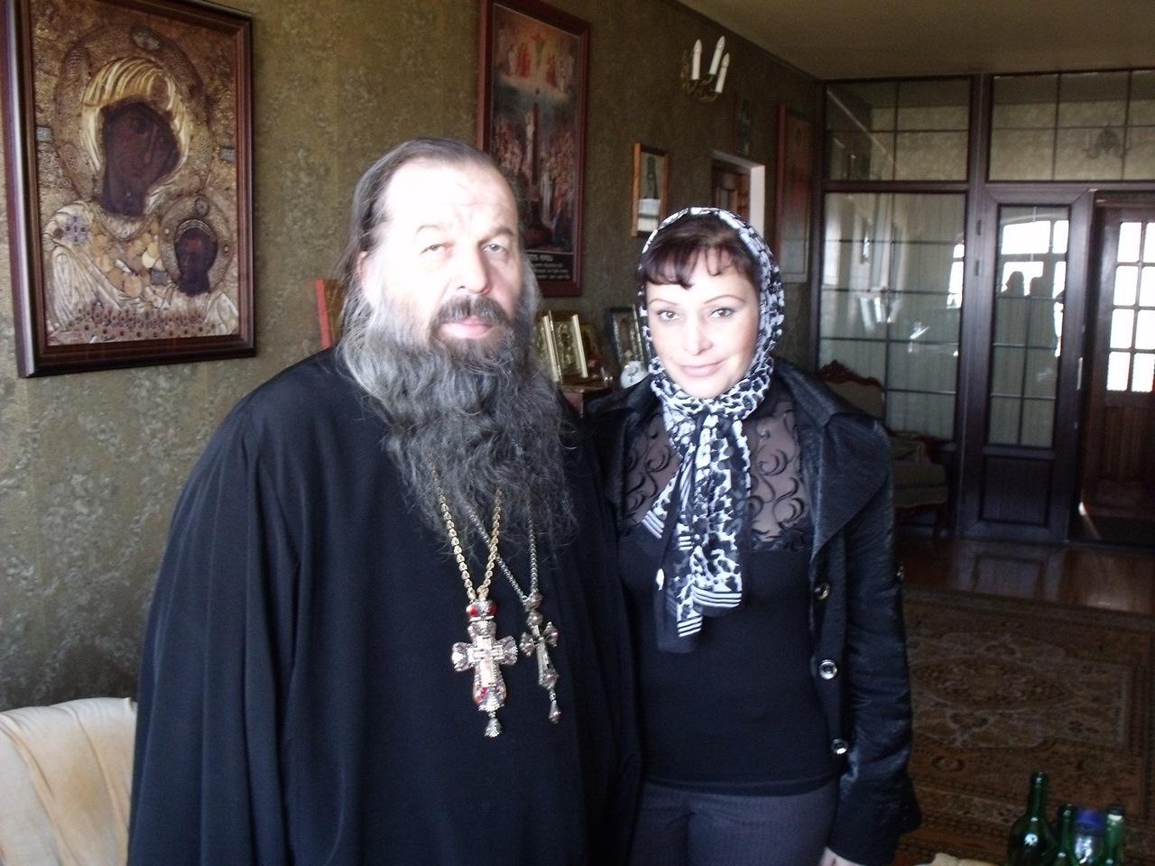 В гостях у батюшки Шио. Монастырь Шавна Бадавблизи Тбилиси (октябрь 2011)
