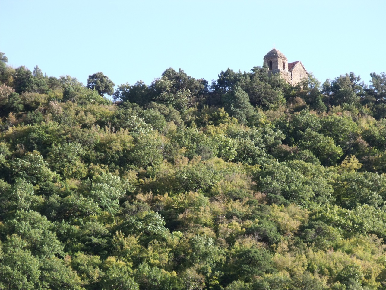 Окрестности Монастыря вблизи Тбилиси (октябрь 2011)