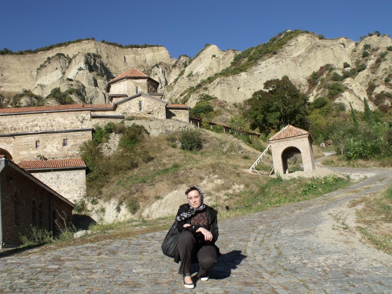 Монастырь вблизи Тбилиси (октябрь 2011)
