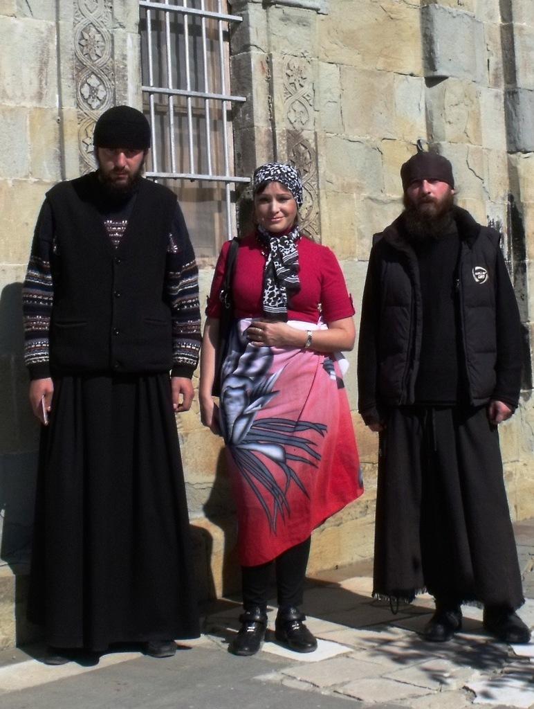 Монастырь Антония Марткопского (октябрь 2011)
