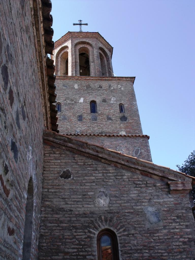 Шавна Бада Монастырь вблизи Тбилиси (октябрь 2011)