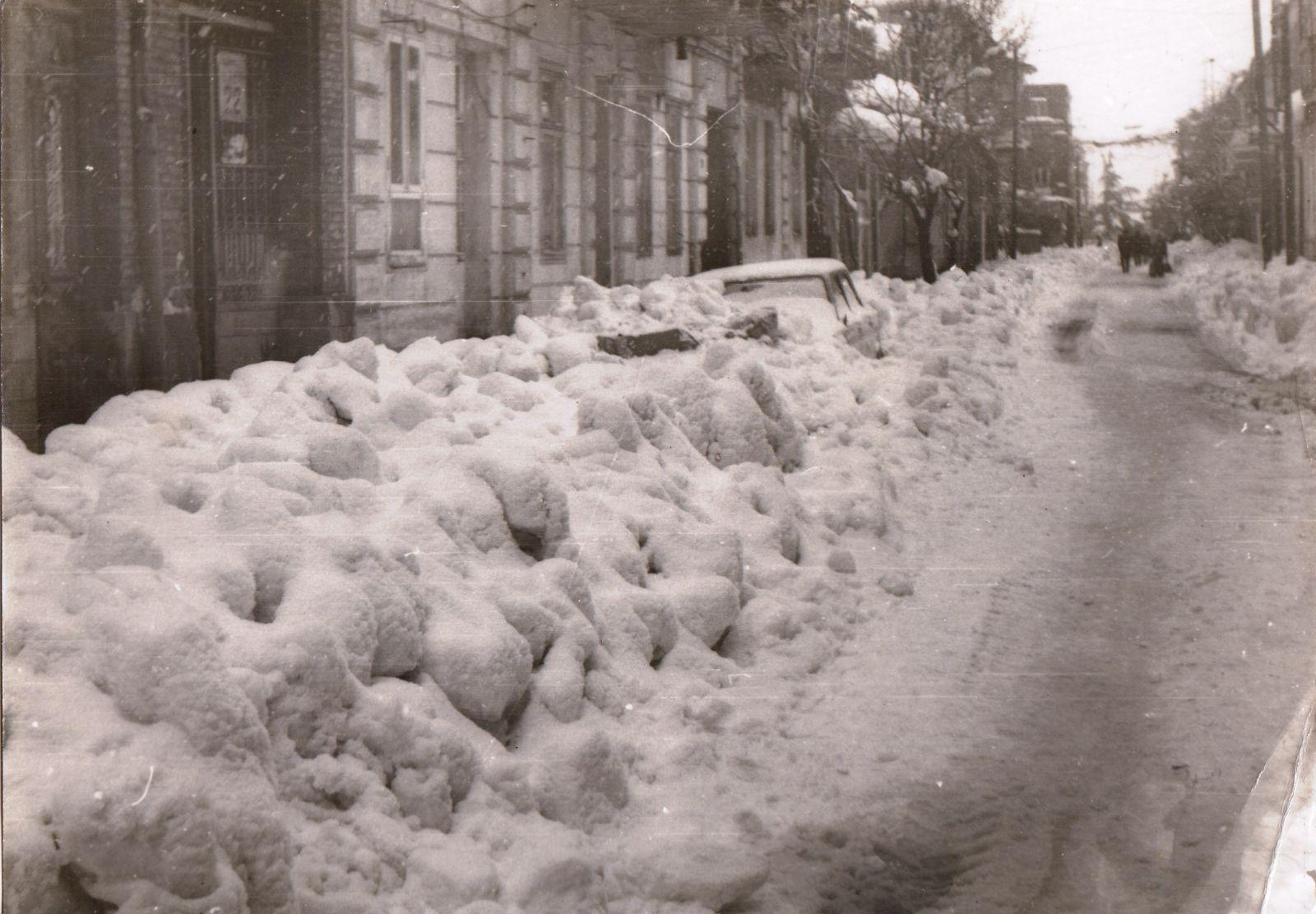 Батуми.Зима,1985г.