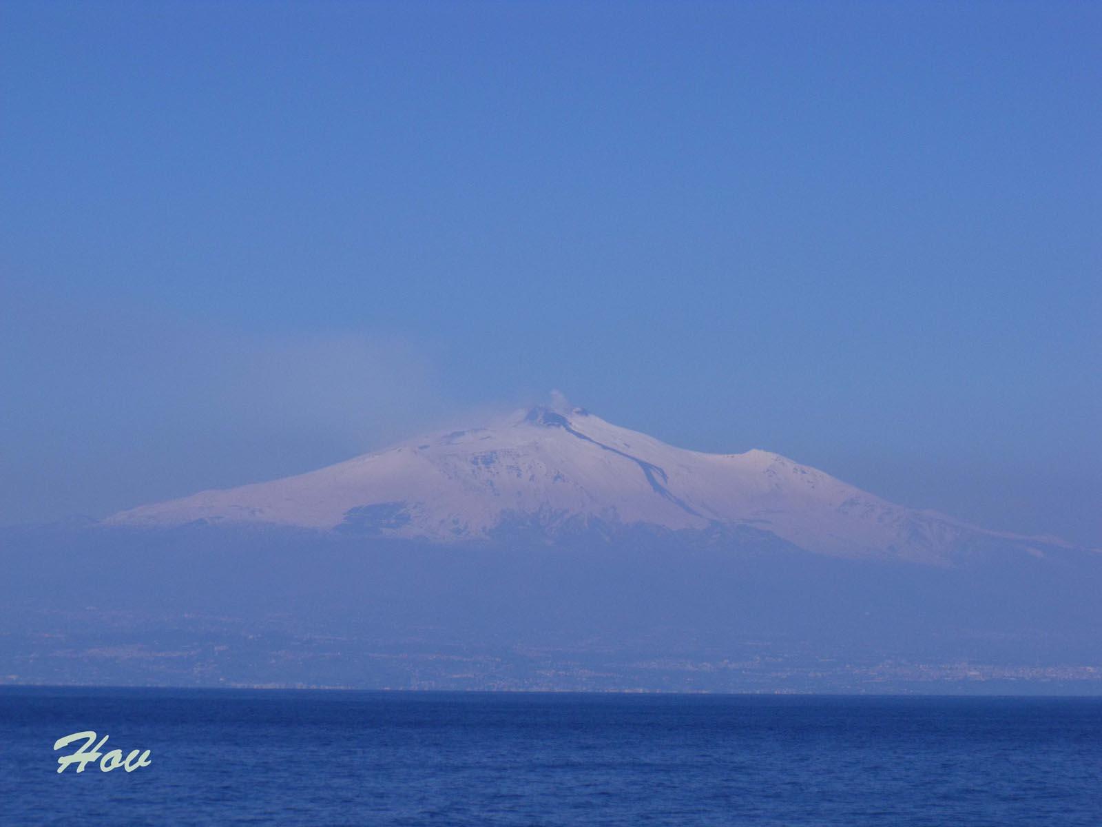 Этна после извержения