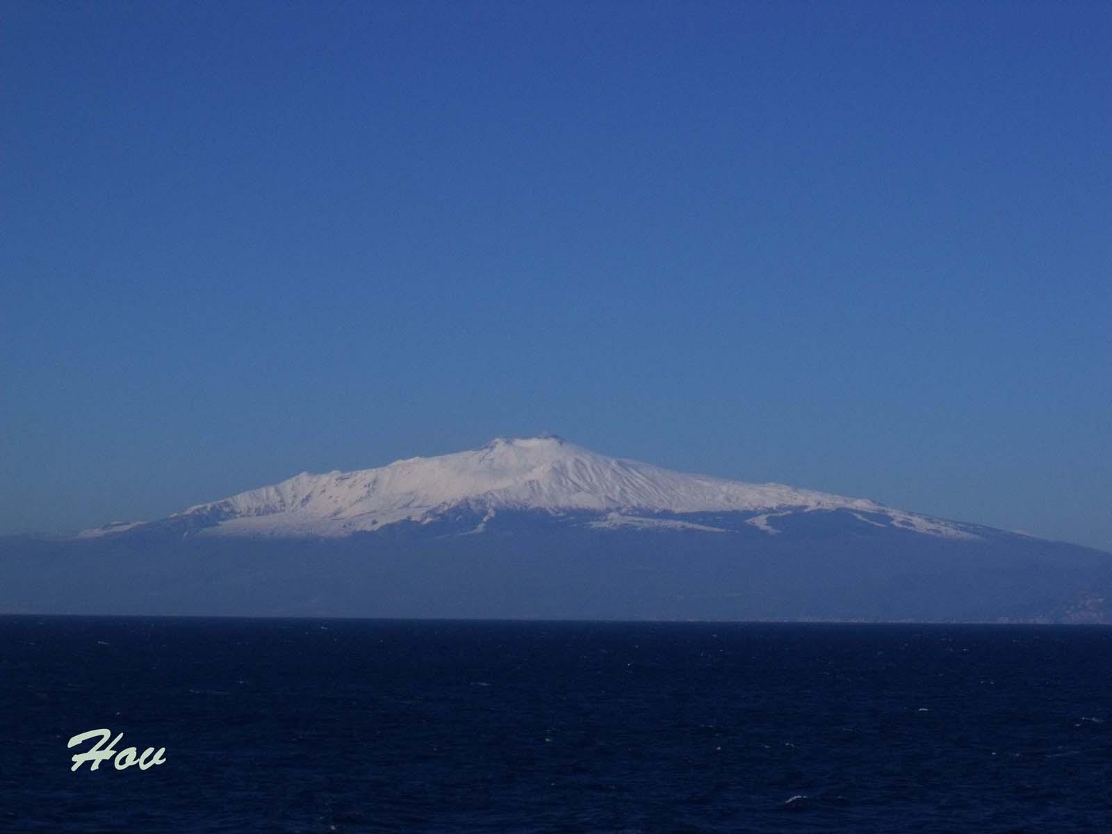 Этна до извержения